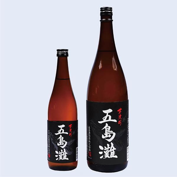 五島灘 黒麹(720ml瓶、1800ml瓶)