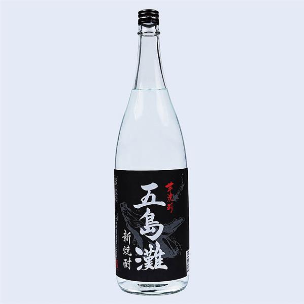 五島灘 黒麹【新焼酎】(1800ml瓶)