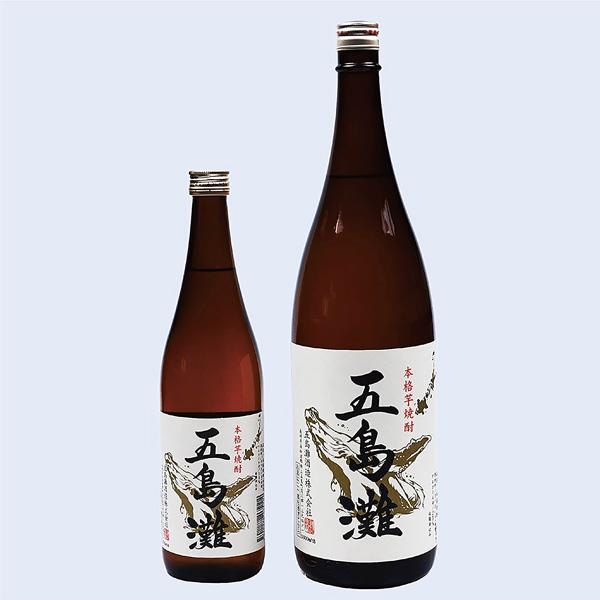 五島灘 白麹(720ml瓶、1800ml瓶)
